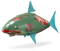 It's Not Halloween Until Your Home Is Haunted By Flying Zombie Sharks!    ---  from InventorSpot.com --- for the coolest new products and wackiest inventions.