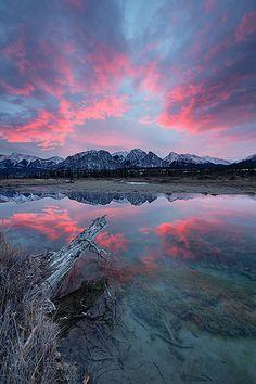 ✯ Beautiful Sunset West of Nordegg, Alberta