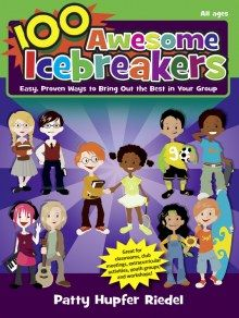 100 Awesome #Icebreakers - Is filled with fun ways to help young people get to know one another, become comfortable in their groups, and form a unit with a common goal.