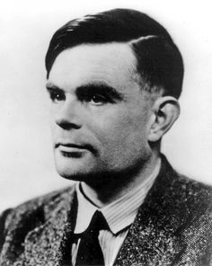 """Alan Turing, mathematical genius, Code breaker the """"Enigma Code"""" and world's first computer scientist.  Persecuted for being gay and committed  suicide in 1954."""