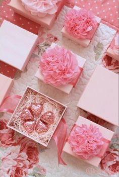 #Spring #wedding #pink favors, Spring wedding gifts ideas with flowers
