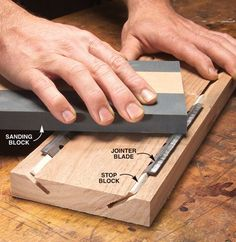 how to make a wooden knife without power tools