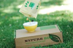 A Healthy Approach to Snacking, the nature box....feed people in need while feeding yourself