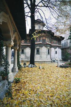 Stavropoleos Monastery, Bucharest, Romania   #travel