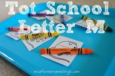 Tot School Printables Letter M is for Mouse from Wildflower Ramblings #totschool