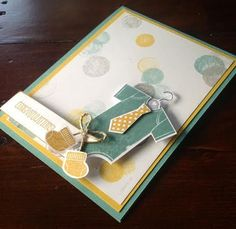 Baby Boy card using Something for Baby
