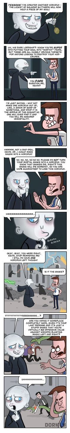 Voldemort's Assistant, Kevin