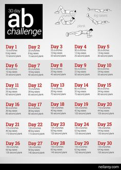 Ab Challenge - doin' this! Great for the kids. After they meet the challenge I take them out for an outfit or something :-)