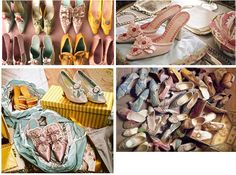 Marie Antionette shoes
