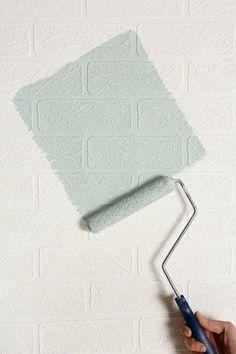 Graham & Brown Brick Wall Paintable Wallpaper
