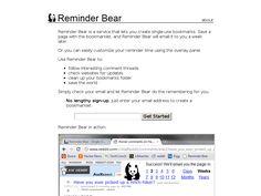 Reminder Bear