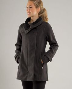 Audrey Jacket from lululemon......... but a little out of my price range