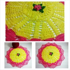 I just listed Yellow and pink doily on The CraftStar @TheCraftStar #uniquegifts #doily #pink #yellow #homedecor #fallfashion