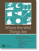 """Reading Rockets """"Family Literacy Bag"""" to go with Where the Wild Things Are. Lots of tie ins to nocturnal animals."""