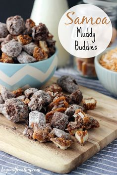 Samoa Muddy Buddies | beyondfrosting.com | #samoa #girlscoutcookie by Beyond Frosting, via Flickr