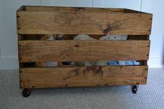 idea, toy chest, nurseries, homemade toys, pallet, theme nurseri, toy boxes, wooden crates, kid room