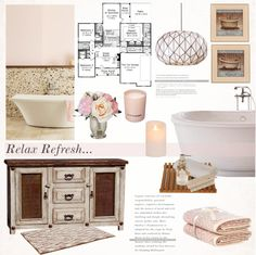 """Details in our new bathroom"" by helenevlacho on Polyvore"