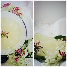Elderflower + Honeysuckle Jelly recipe