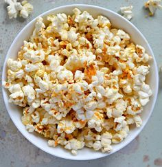 Buffalo Ranch Popcorn From Scratch No Packet