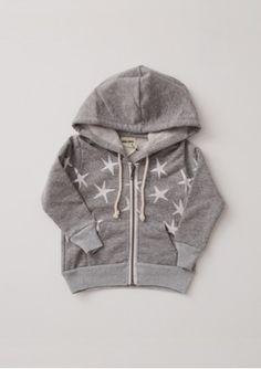 Bobo Choses Hooded Sweat Shirt Stars - Baby