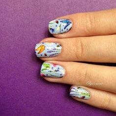 Арт дизайн ногти