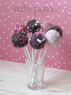 Recette Cake Pops