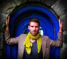 crochet alligator scarf