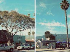 Carpinteria California...super cute beach town.