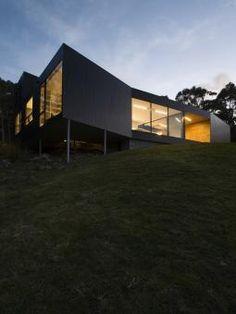 Hilltop modern.