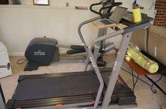 Laptop treadmill desk