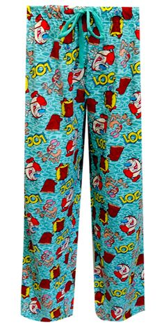 Nickelodeon Rewind Ren and Stimpy Lounge Pants What a blast from the past! These hysterical Ren and Stimpy unisex lounge pants ...