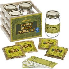 Victory Garden Pickle Kit in Prep Utensils   Crate and Barrel