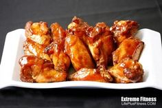 This blog is full of healthy recipes. I have heard this is the best baked wing recipe.