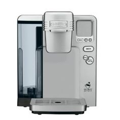 Cuisinart quality and Keurig convenience-- can't beat it! :)
