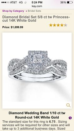 Today I tried this ring on, with the band, it was absolutely stunning and looked completely perfect !!!