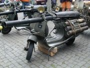 Vespa mobile rocket launcher