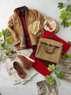 Outdoor essentials: Rugged—but beautiful—workwear is an essential for outdoor tasks. | Photo: Yunhee Kim wardrob manifesto, outdoor photos, men gift