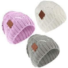 Horze Francene Knit Hat - matching tube scarf also available! | ChickSaddlery.com