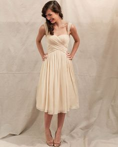 Cute bridesmaid dress.