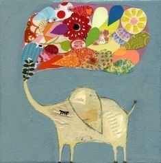Absolutely love the collage style artwork from artist Mati Rose McDonough www.matirose.com.   Mati illustrated a couple of the board books that wrote for I See Me!