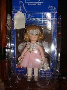 "NRFB 1984 8"" Porcelain Ginny Doll by Vogue"