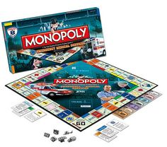 Emergency Medical Services Monopoly game