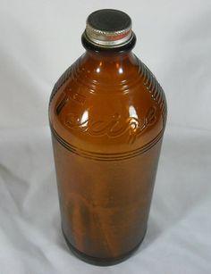 NICE Vtg Bottle with Lid