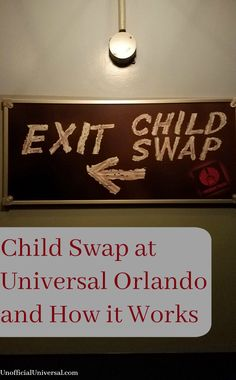 Child Swap at Univer