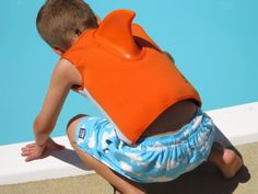 The Jackson Five: Learn to Swim with SwimWays Swim Steps products...