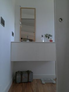 Recibidores on pinterest hallways ikea and marble top for Notre maison minimaliste