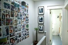 frame less photo wall