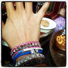 how amazing is @brooke's stack of jewels!? #showusyoursparkle