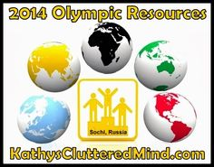 Tons of Olympic 2014 resources.