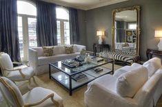White Denim sofas from Joseph Co.